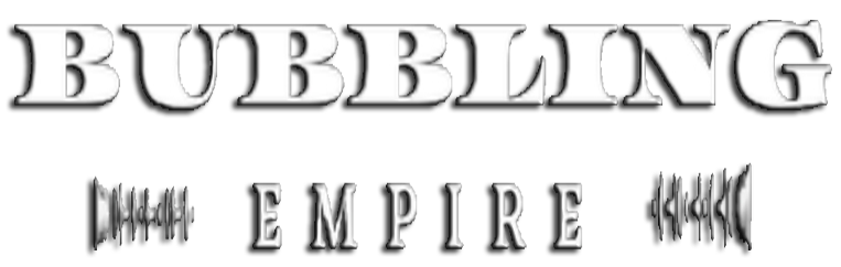 BUBBLING EMPIRE Logo
